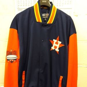 Cooperstown collection G-iii Houston Astros jacket